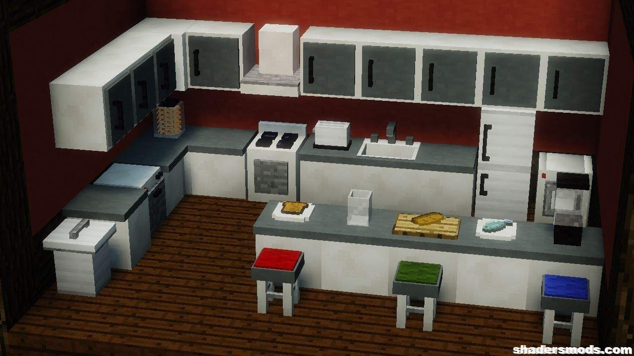 Mrcrayfish s furniture mod for minecraft for Where to get a kitchen from